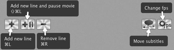 Subtitles controls